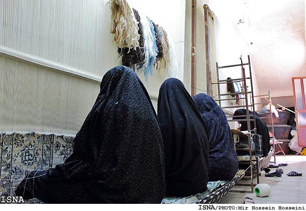 رونق مشاغلخانگی در روستای «کهریز» کبودراهنگ