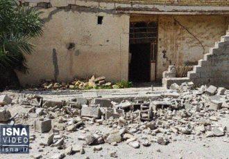 برآورد اولیه خسارات زلزله گناوه /بیشترین خسارت در روستاهای بخش مرکزی