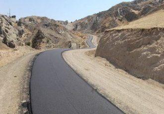 آسفالت ۱۲ کیلومتر راه روستایی در دیواندره