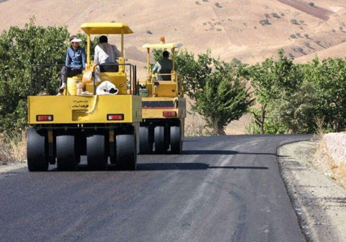 آسفالت ۲۳ کیلومتر راه روستایی شهرستان سلماس