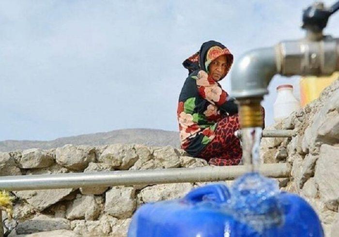 اتصال چهار روستای خارتوران شاهرود به شبکه آب شرب