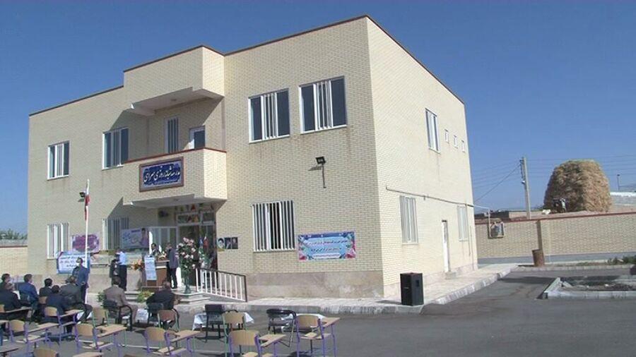 افتتاح مدرسه خیرساز هشت کلاسه در هریس