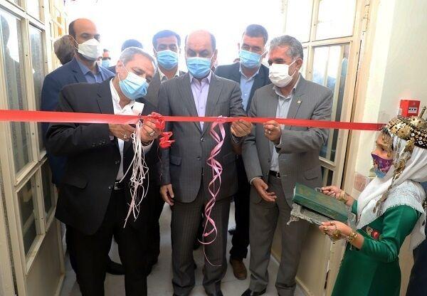 افتتاح مدرسه ۶ کلاسه در روستای چارقلی شهرستان گمیشان