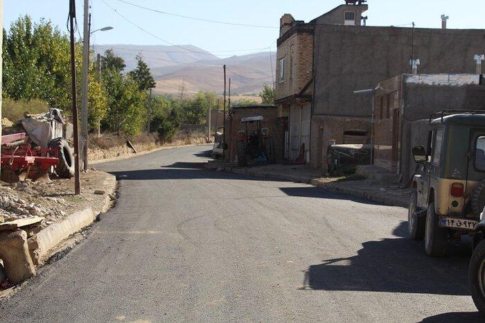 طرح آسفالت روستای یولقونآغاج تکاب