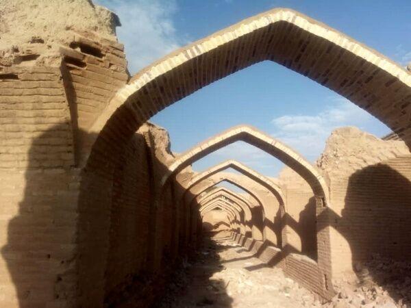کاروانسرای تاریخی بدشت شاهرود مرمت و بهسازی شد