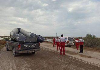امدادرسانی به خانوادههای گرفتار در محاصره آب انجام شد