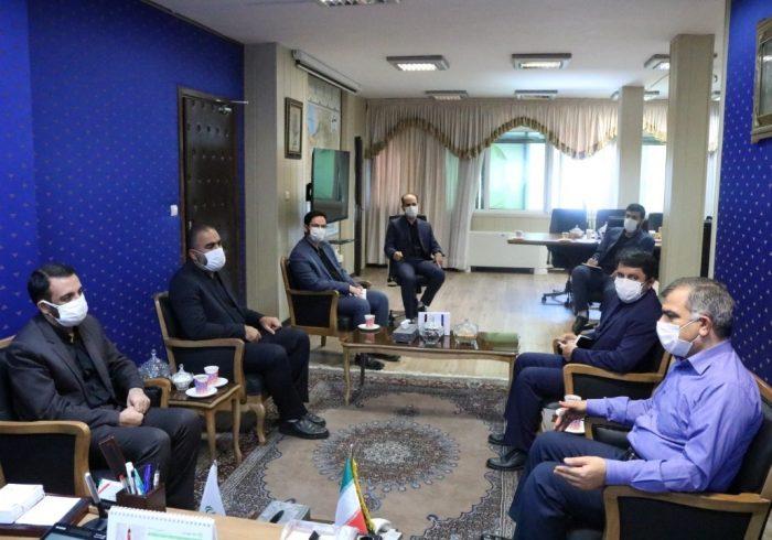 دیدار معاون توسعه روستایی و مناطق محروم ریاست جمهوری با نماینده مردم تهران در مجلس شورای اسلامی