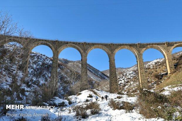 پلی با معماری ایرانی – اروپایی در «دوآب»