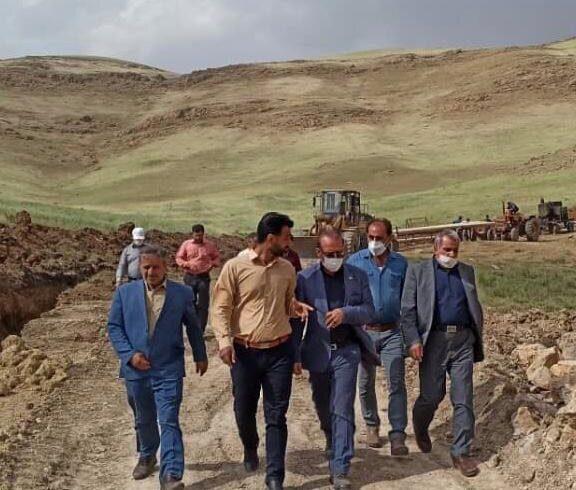 گازرسانی به ۹ روستای شهرستان الیگودرز تا پایان خردادماه ۱۴۰۰