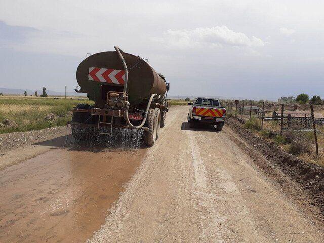 تسطیح بیش از ۸۵۰ کیلومتر از راههای روستایی  بیرجند