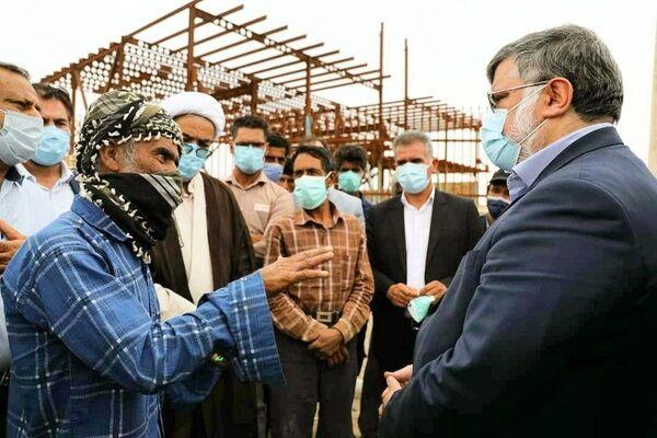 رفع مهمترین مشکلات ساکنین روستای همزاره خواف